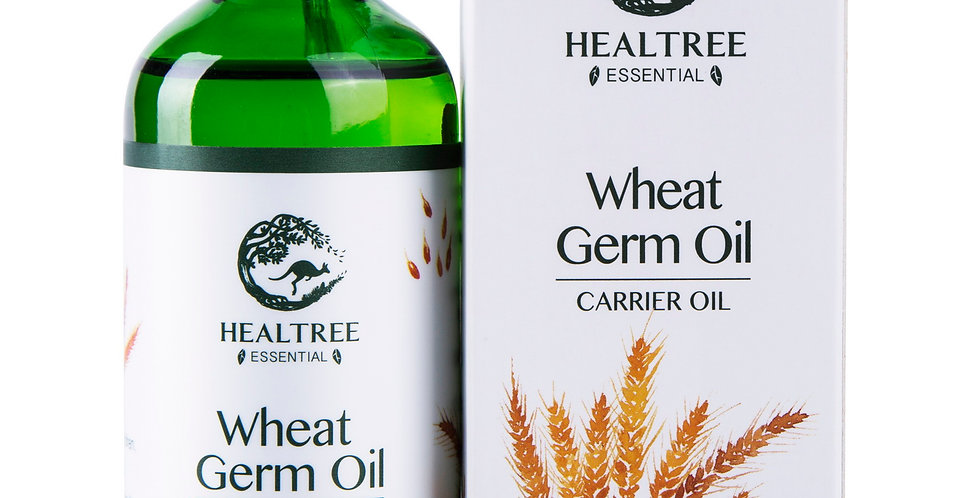 Wheat Germ Oil 100ml - 100% Pure & Natural Cold Pressed Wheatgerm Oil