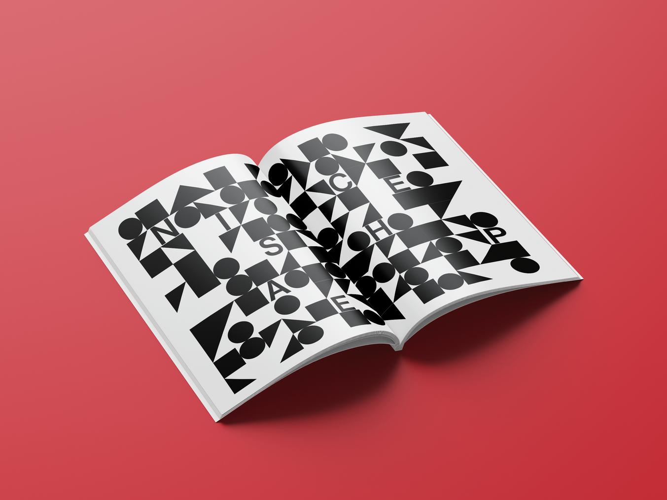 Broschüre Grafik und Print