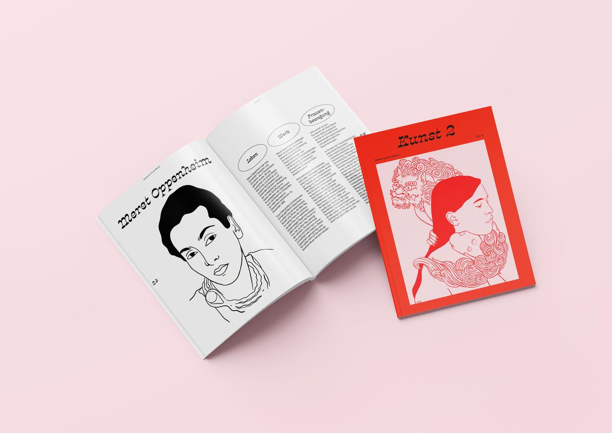 Kunst 2 Broschüre