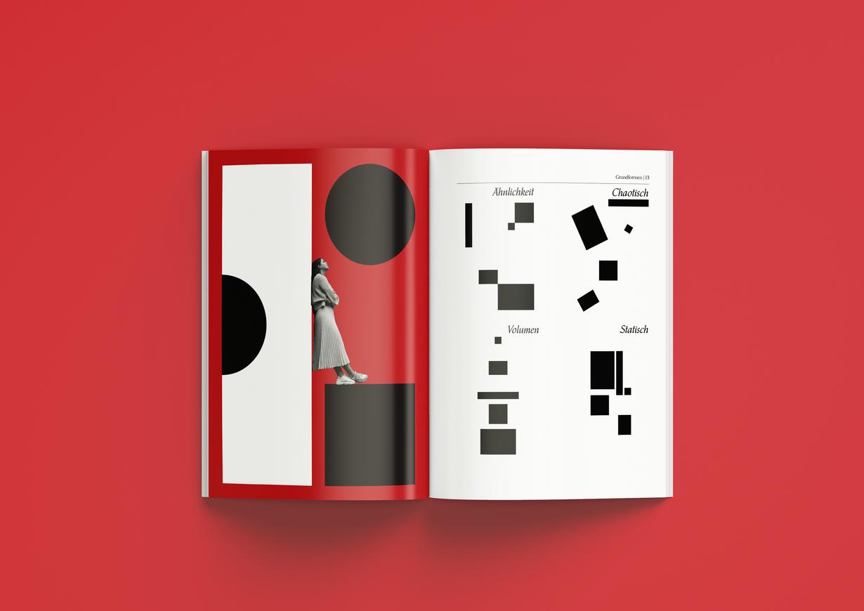Grafik und Print Broschüre