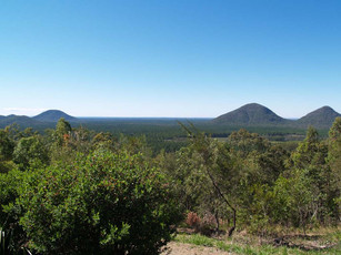 The Glasshouse Mountains - A place of legends and history.