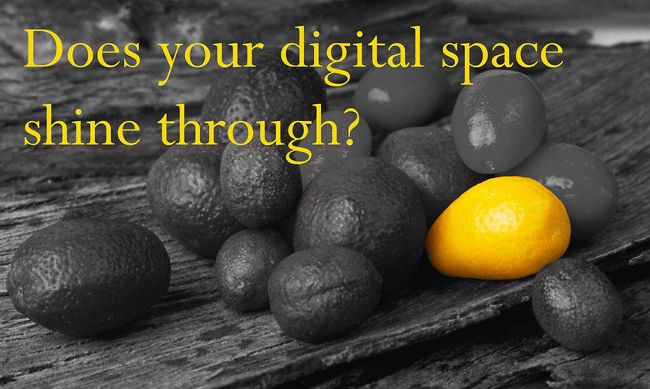 Does You Digital Space Shine Through?