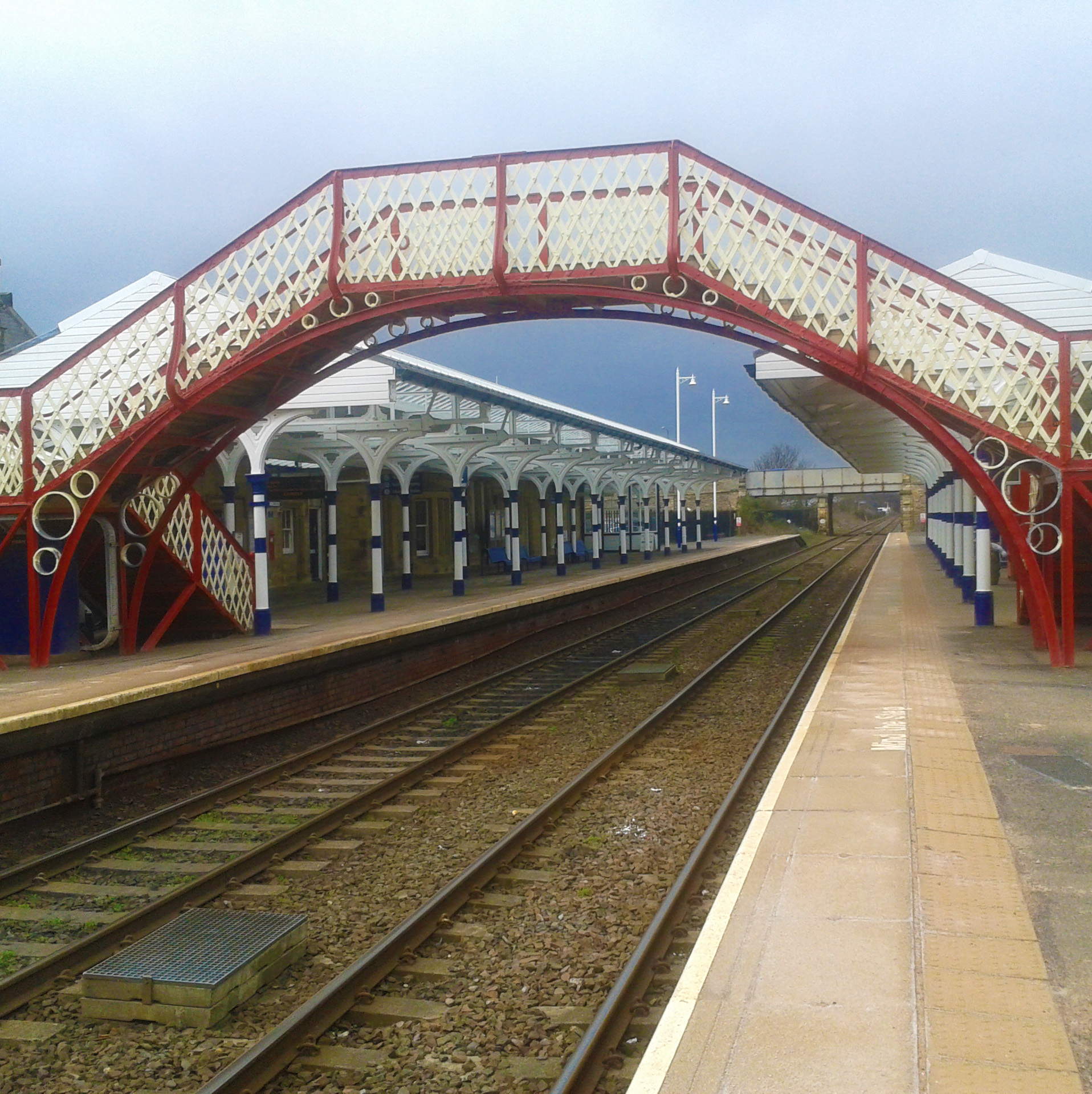 Hexham Railway Station, Scotland