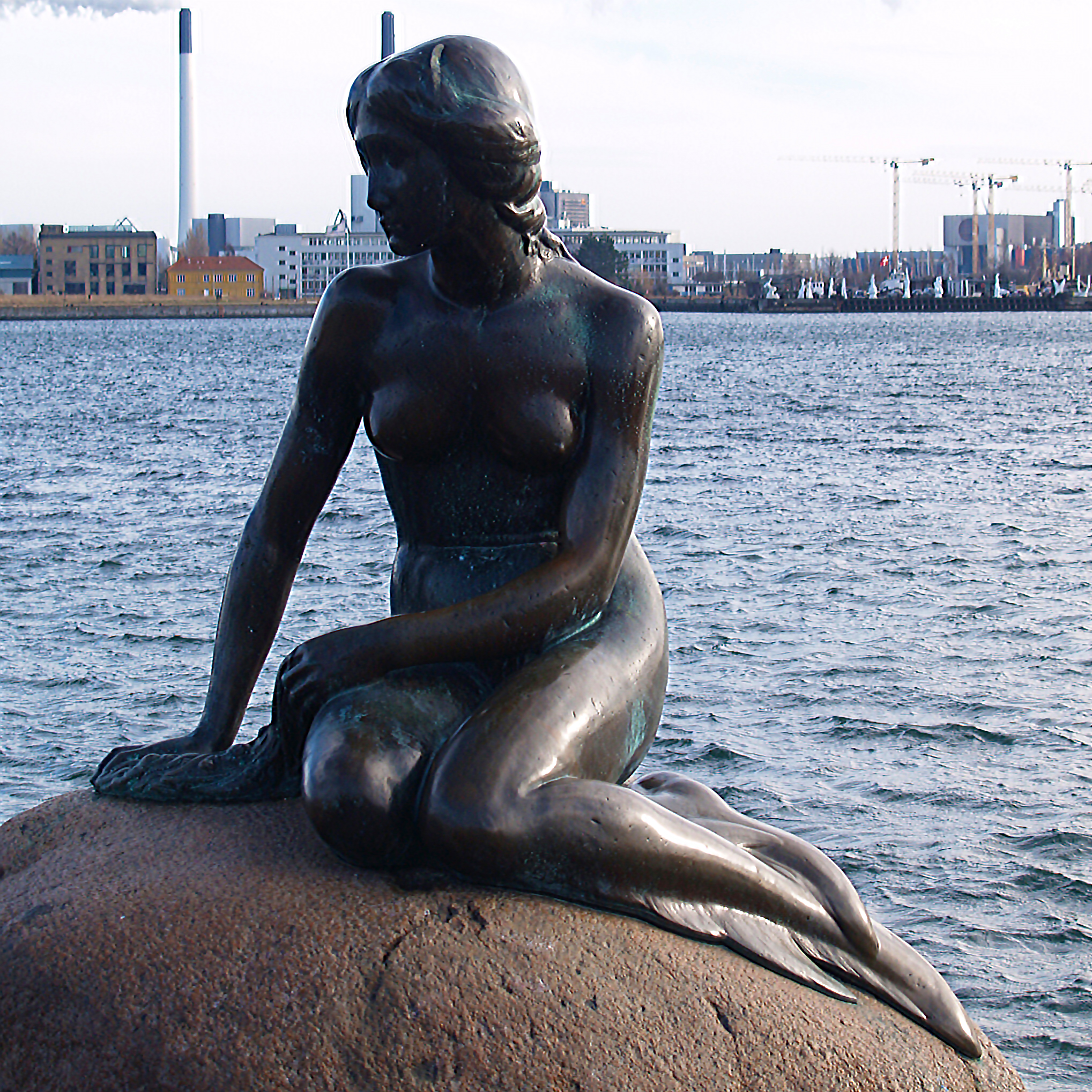 The Little Mermaid, Copenhagen Denma