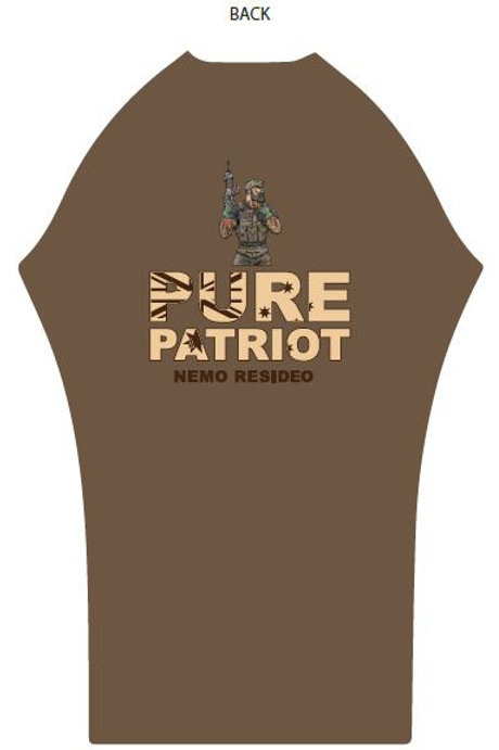 BATTLE EDITION - Pure Patriot Aussie Rash Shirt