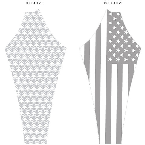 B-BOLD - USA Pure Patriot Rash Top