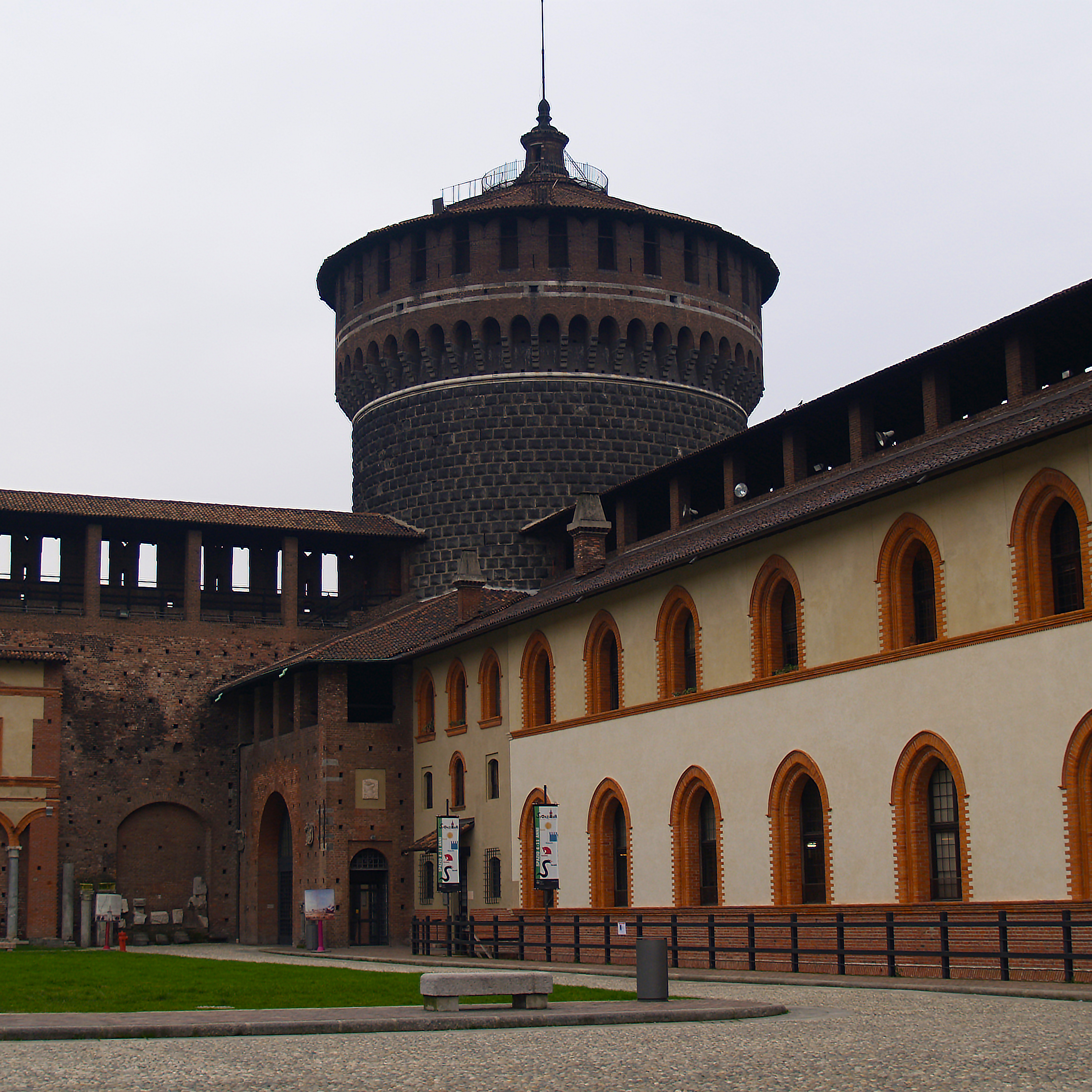 Crenelation Fort, Milan Italy