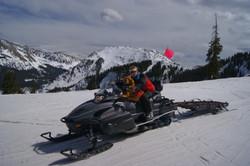 Danin and Willy and Kachina Peak