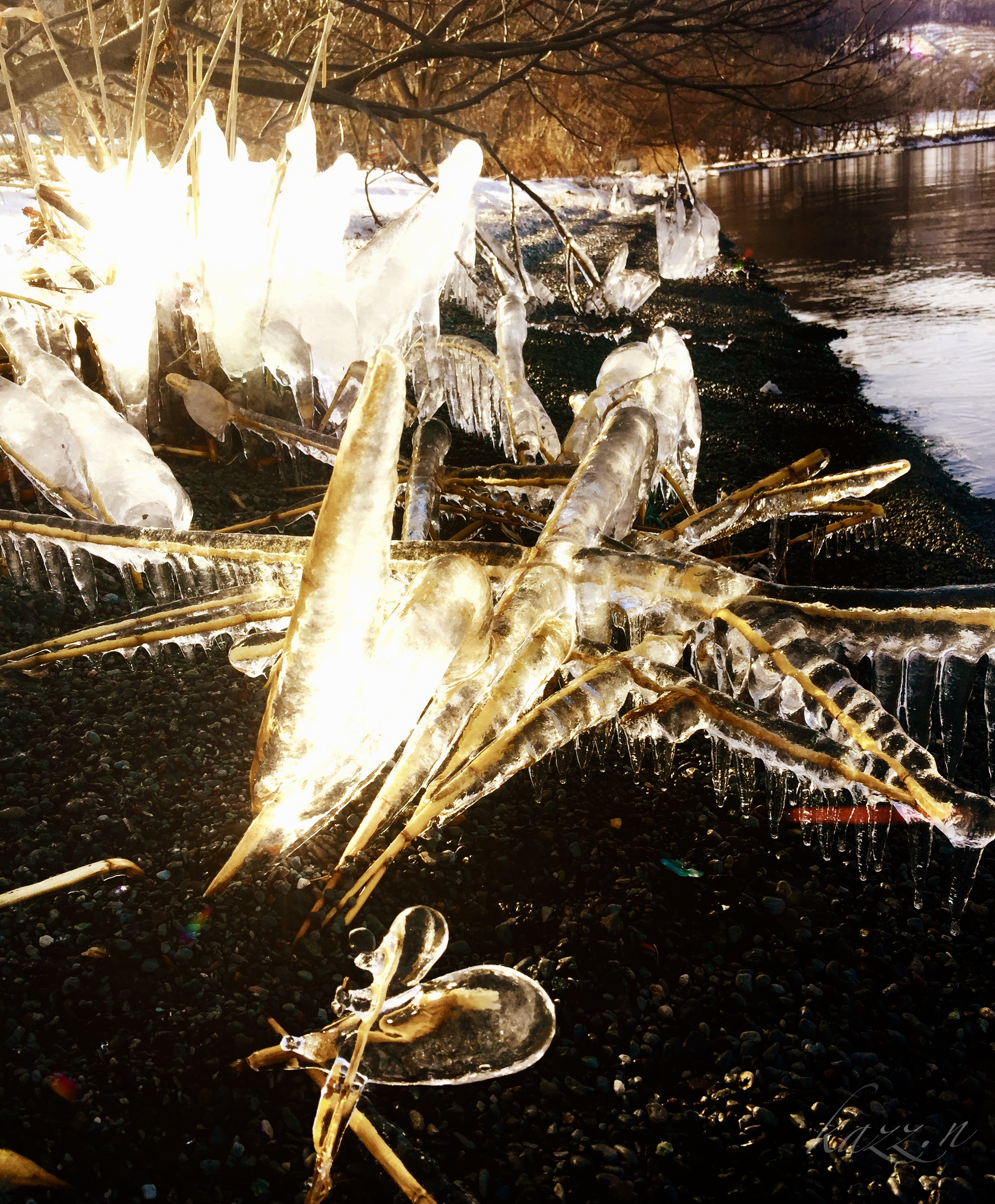 ice cluster