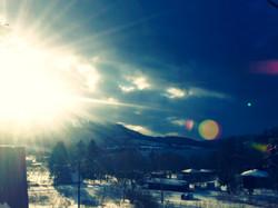 toya in winter