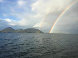 toya and rainbow