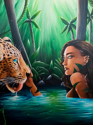 'Into the Leopards Eyes'