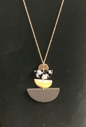 Wedge Pendent Necklace