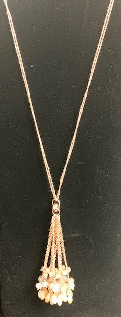 Gold Mix Pendant Necklace