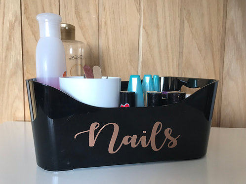 Small Black Storage Basket