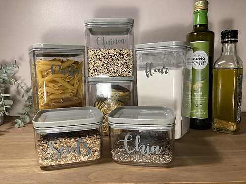 Personalised food container set