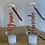 Thumbnail: Personalised refillable hand sanitiser travel bottle