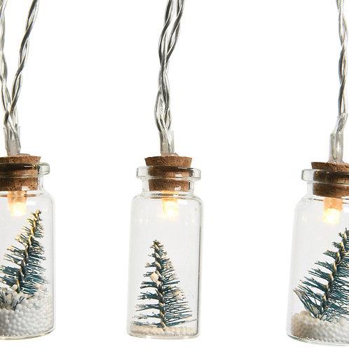 Winter Pine Tree Fairy Lights