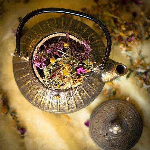 מארז קומקום יפני וחליטת צמחימרפא