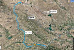 Карта Кызылколь