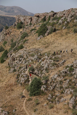 Canyon slope