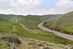 Перевал Куюк в районе старой трассы