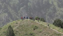 In Aksu canyon