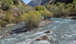 Aksu river