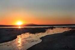 Кызылколь и устье реки Ушбас