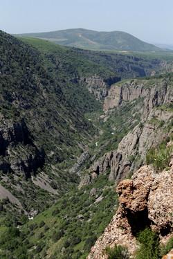 Aksu canyon
