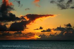 WAIMEA SUNSET HAWAII