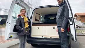 Céline et Josquin s'offrent un CUBE NOMAD pour de petits road trips.