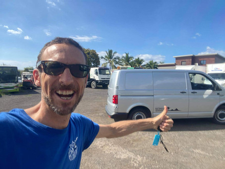 BIEN ARRIVÉ sur l'île de la Réunion après 9400 Kms.