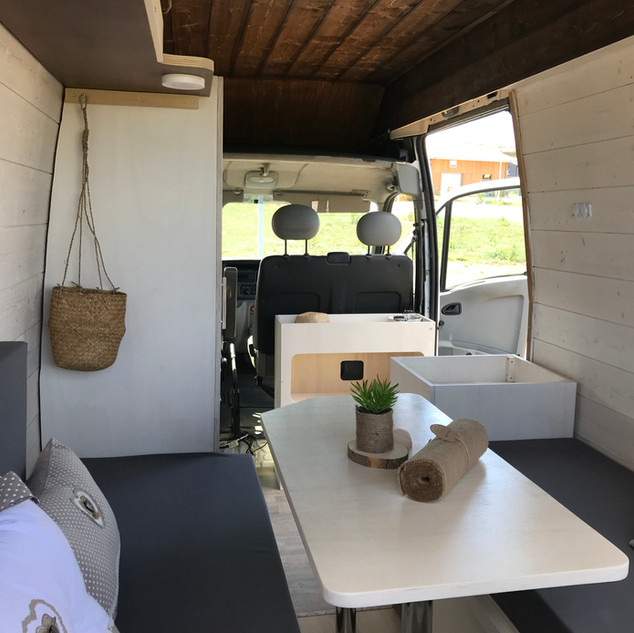 """Salon en """"U"""", kit BIG - Mobilier Nomad"""