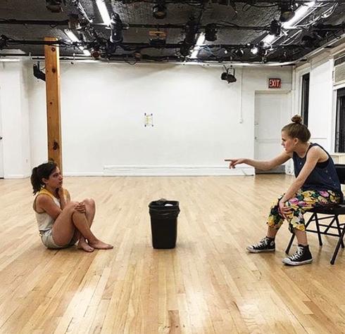 Rehearsal at BAX