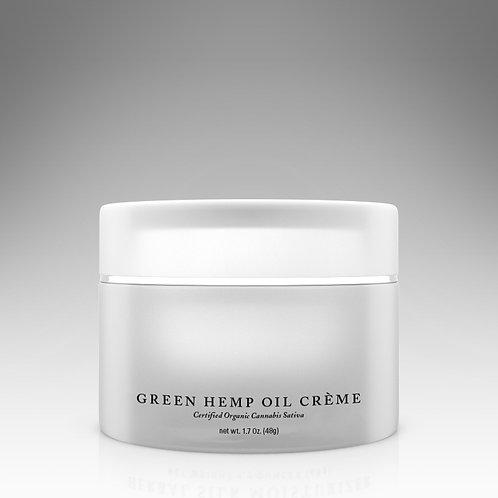 Green Hemp Oil Creme