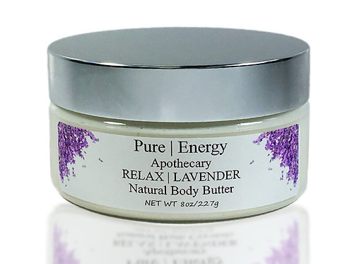 RELAX/ LAVENDER Natural body butter