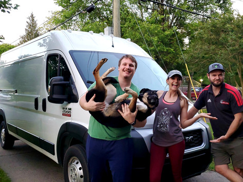 DAY 1 - We bought a van!