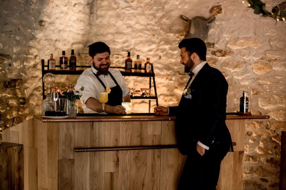 Le bar Bois de Douce Ivresse