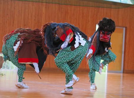 室賀の三頭獅子とささら踊り