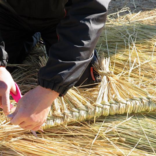 しめ縄作り講習