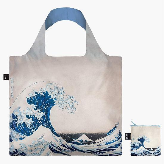 Katsushika Hokusai The Great Wave Recycled Bag, 1831