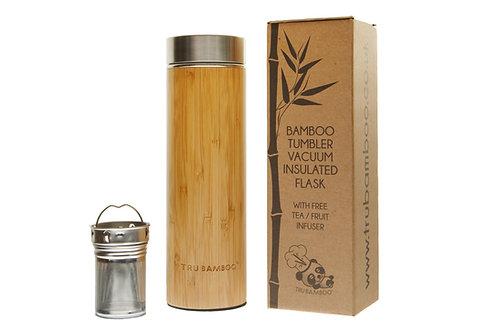 Bamboo Tumbler - 530ml / 18 fl oz Vacuum Flask