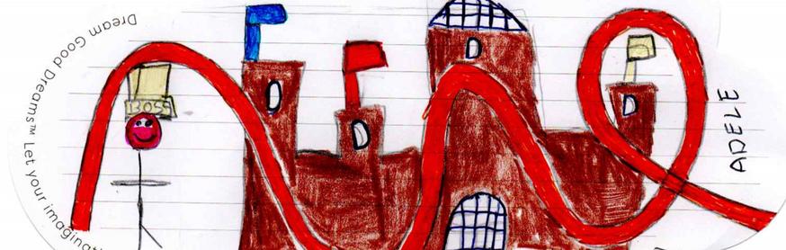 Adele, du Cheshire, a dessiné son rêve où elle devient le patron de « Alton Towers (l'équivalent du Parc Astérix) et habite dans le château (qui est fait de chocolat).
