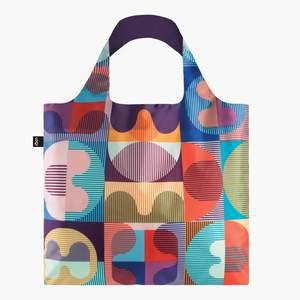 LOQI HVASS & HANNIBAL Grid HH.GR Reusable Tote shopping Bag 50cm 20kg