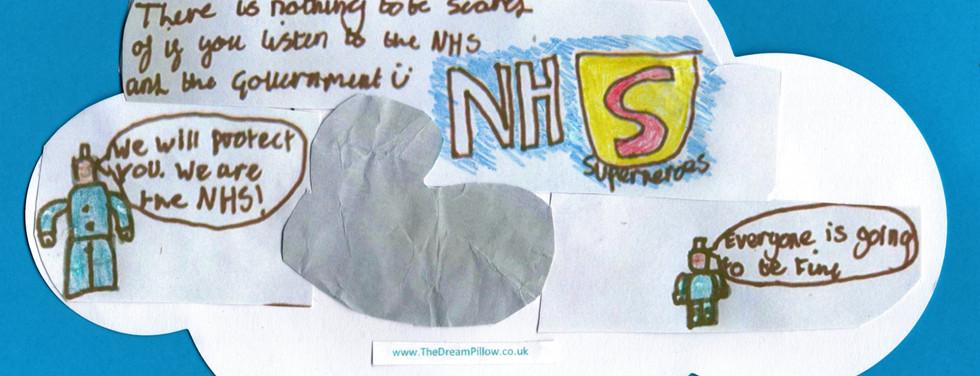 Alfie ha sognato un desiderio diviso in 2 parti: nella prima ci sono gli infermieri e dottori come pupazzetti Lego
