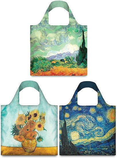 LOQI Museum Vincent Van Gogh Collection Wheatfield. Blue Sunflower. Starry Night