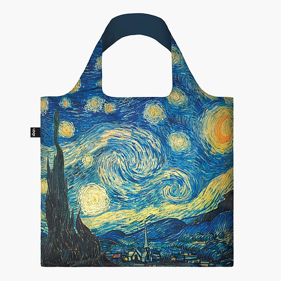 Vincent van Gogh The Starry Night Recycled Bag
