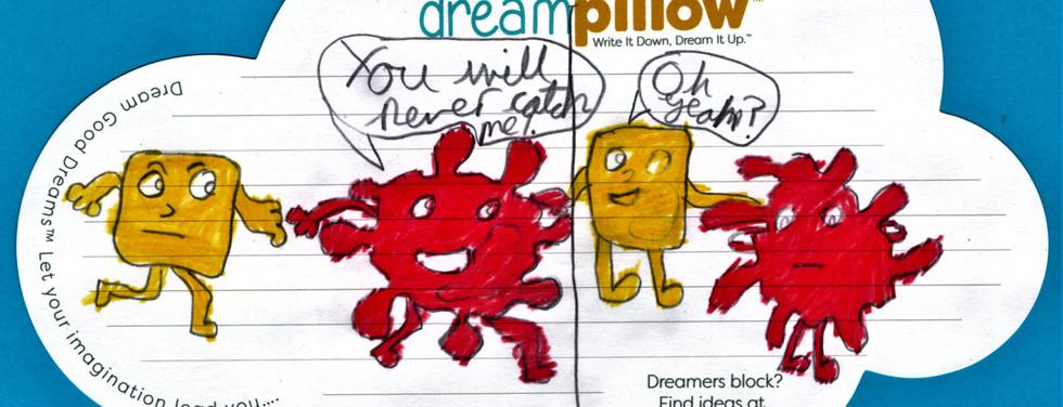Questo e'il sogno di Rachele diviso in due parti.