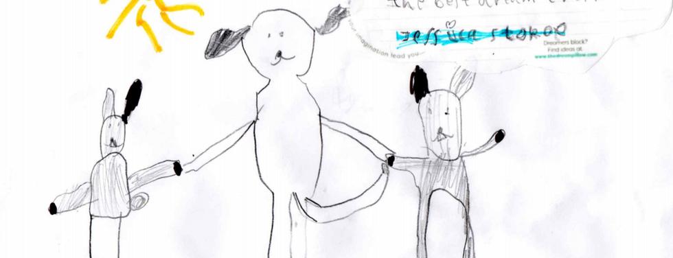 Jess da Firenze, ha sognato di giocare con un personaggio dei cartoni animati  o di un film o diventare uno di loro.
